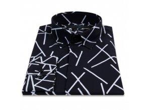 košile CITY LIFE MODERN FIT černá