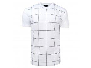 tričko BEN bílé stretch