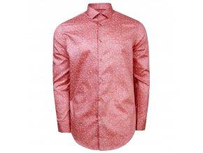 košile ALESSIO Modern.červená