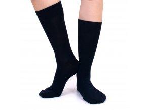 Ponožky tm. modré