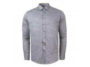 košile CHARLIE Slim fit šedá