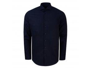 košile PIETRO Slim fit tm. modré