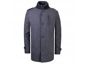 kabát FABIO šedočerný
