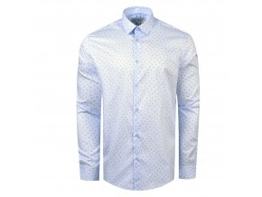 košile ADAMS Reg.sv. modrá