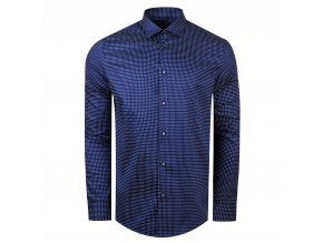 košile VALERIO Slim fit modrá
