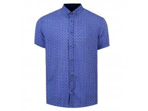 košile BAMBOO Reg. krátky r. světle modrá