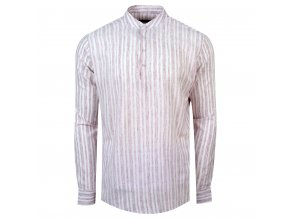 košile FRANKIE Slim fit růžová