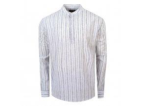košile FRANKIE Regular šedá