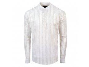 košile FRANKIE Regular béžová