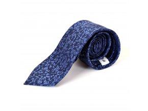 Kravata tmavě modrá F49
