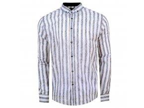 košile NORBERT Slim fit bíla m.