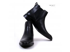 boty FERATT černé 02895