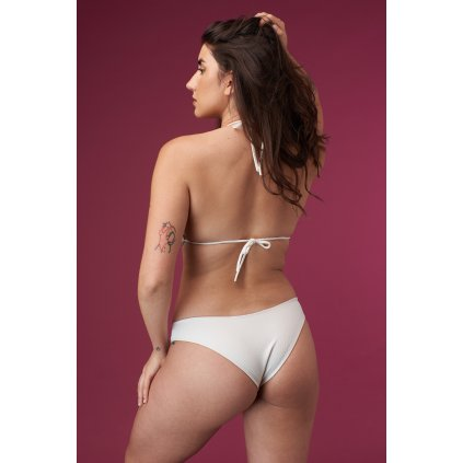 SAND plavkové kalhotky bílé zezadu