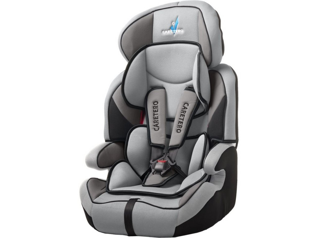 Autosedačka CARETERO Falcon Light grey 2016