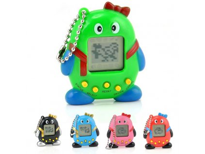 Multicolor Virtual Pets In One font b Penguin b font Gift Toy font b Electronic b
