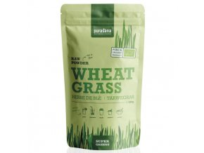 Wheat Grass Raw Powder (Evropský původ) BIO 200g