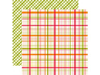 1076 little girl madison plaid