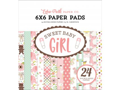 SBG142023 Sweet Baby Girl 6X6 Pad