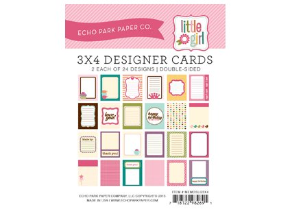 MEMOSLG3X4 3X4 Little Girl Kit Cover 2