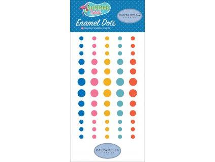 CBSPL83028 Summer Splash Enamel Dots