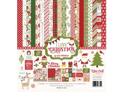 ILC114016 I Love Christmas Kit Cover