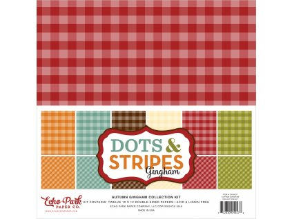 GH18037 Autumn Gingham Collection Kit
