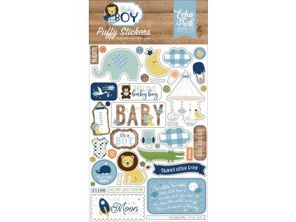 BAB206066 Baby Boy Puffy Stickers