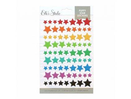 EllesStudio July2019 Star Puffy Stickers 01