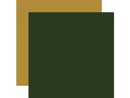 Here Comes Santa Claus - Dark Green/Gold