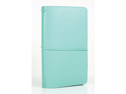 TN1002 Travelers Notebook Teal Book Closed