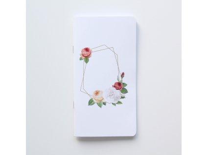 Traveler's notebook - Růže