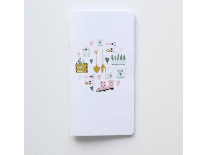 Traveler's notebook - Zahrada
