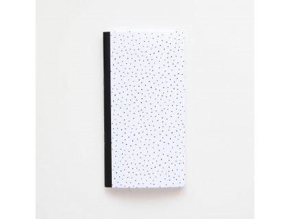 Traveler's notebook - Skvrny