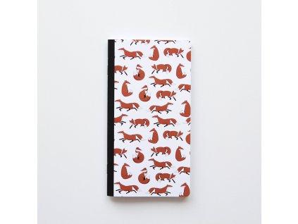 Traveler's notebook - Lišky
