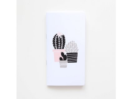 Traveler's notebook - Kaktusy