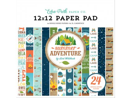 SA180030 Summer Adventure 12 x 12 Paper Pad