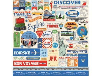 CBPAS84014 Passport Sticker Sheet