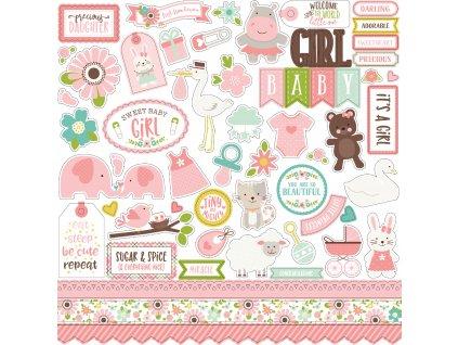 SBG142014 Sweet Baby Girl Stickers