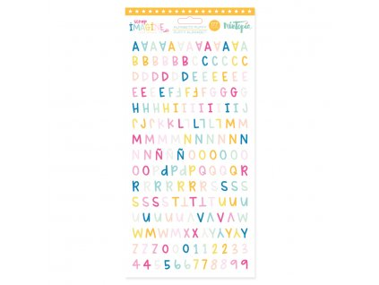 alfabeto puffy imagine