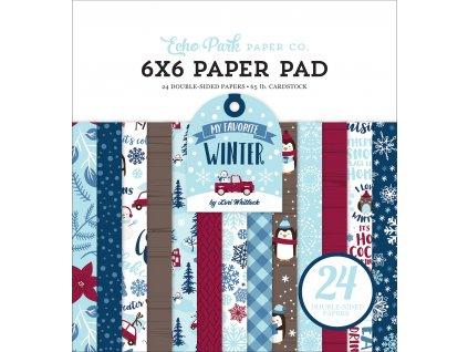 MFW193023 My Favorite Winter 6x6 Paper Pad