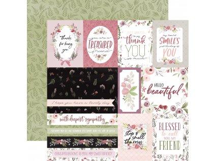 CBF117002 Elegant Journaling Cards