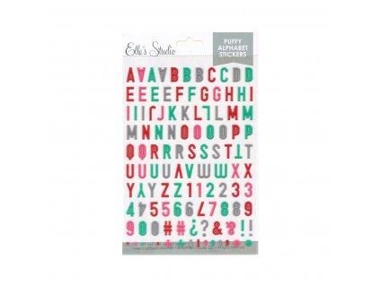 EllesStudio January2020 Puffy Alphabet Stickers 64c7ae8b dedb 473b a5e0 03d4230b61c1