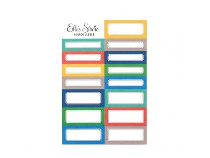 Elles Studio March 2020 Labels