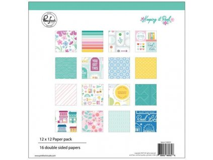 Keeping It Real Double Sided Paper Pack 1222X1222 16Pkg z1