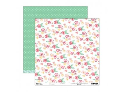 EllesStudio Cienna 12x12paper Flowers CN004