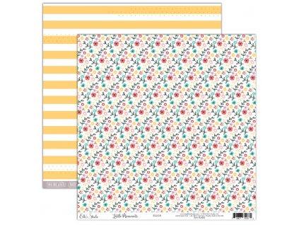 EllesStudio LittleMoments 12x12Paper Bloom LM002