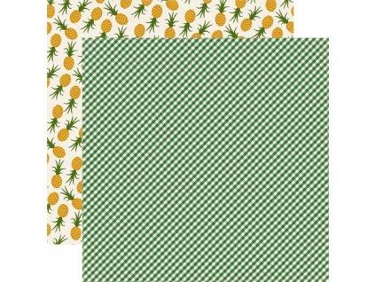 HG87007 Green Gingham