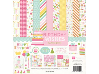 BDG85016 Birthday Girl Collection Kit F