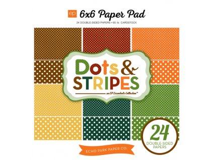 Dots & Stripes - Fall (Typ balení Sada 1x každý design)