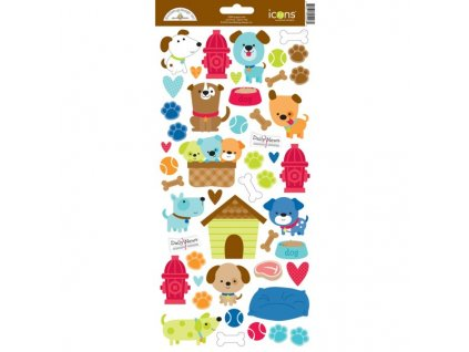 5807 puppy love icons stickers